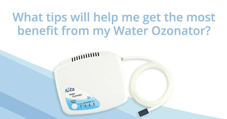 SOTA Water Ozonator FAQ