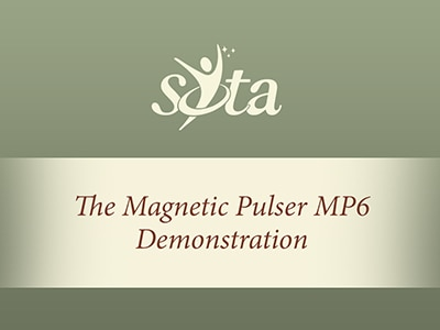 Russ demonstrating SOTA Magnetic Pulser
