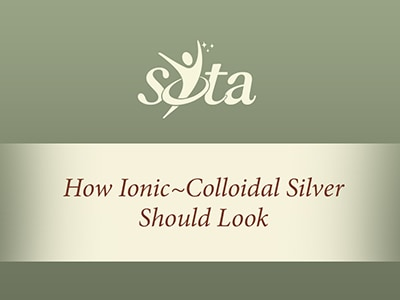 How Ionic~Colloidal Silver Should Look Video