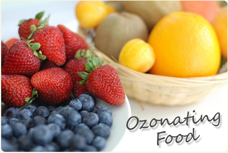 Ozonating produce